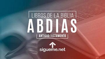 ABDIAS, personaje biblico del Antiguo testamento