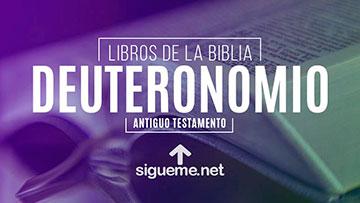 DEUTERONOMIO, personaje biblico del Antiguo testamento