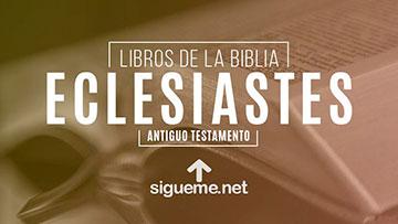 ECLESIASTES, personaje biblico del Antiguo testamento