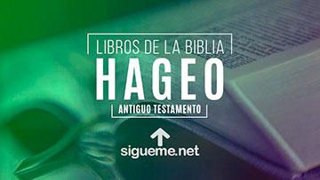 HAGEO, personaje biblico del Antiguo testamento