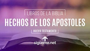 HECHOS DE LOS APOSTOLES, personaje biblico del Nuevo testamento