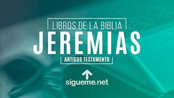JEREMIAS, personaje biblico del Antiguo testamento