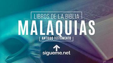 MALAQUIAS, personaje biblico del Antiguo testamento