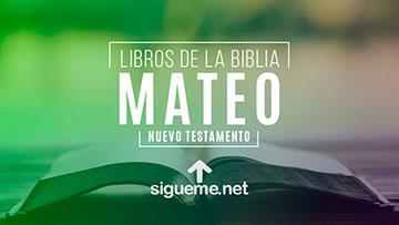 MATEO, personaje biblico del Nuevo testamento