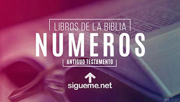 NUMEROS, personaje biblico del Antiguo testamento