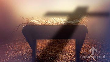 Jesus nació en un pesebre en Belén para ser nuestro Salvador