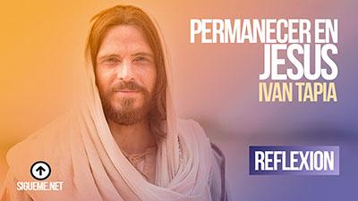 Permanecer en Jesús es actuar como Cristo; lo dice claramente, es: andar como él anduvo