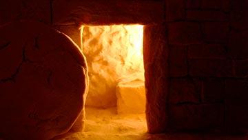Resurreccion de Cristo, No esta Aqui, la