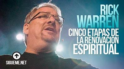Dice Rick Warren, Antes que pueda haber un avivamiento en mi iglesia, debe haber un avivamiento en mi corazón