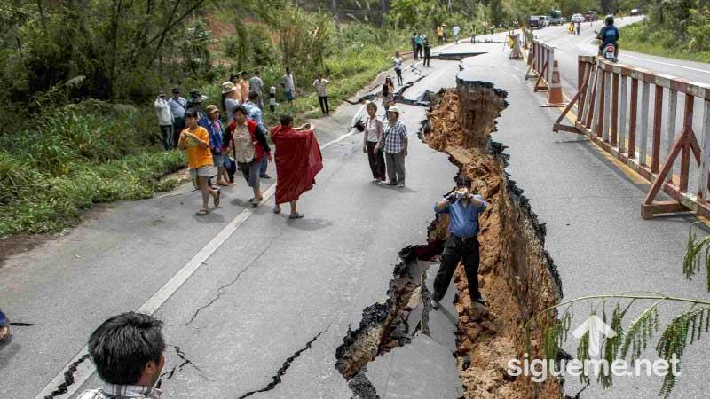 Terremoto en Mexico de 7.1 Grados