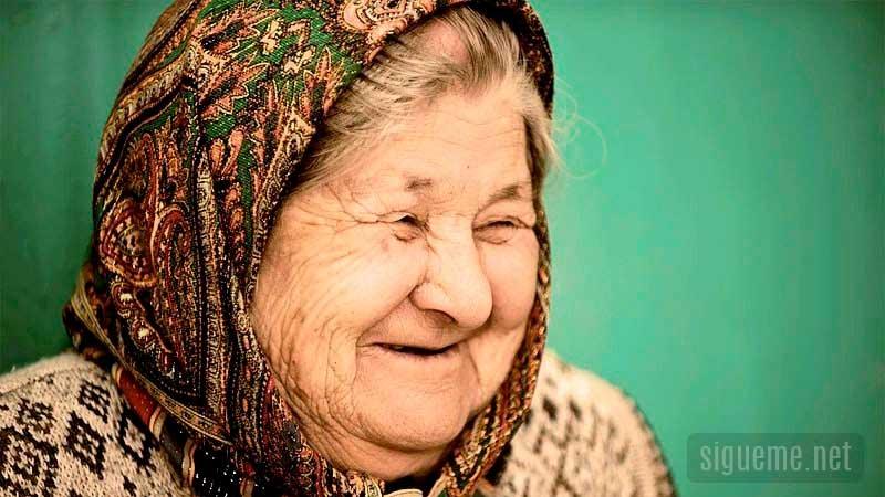 anciana dama