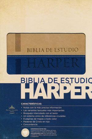 portada del libro Biblia de Estudio Harper