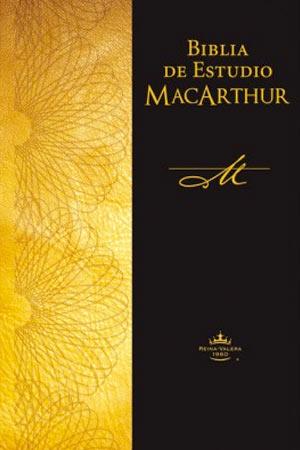 portada del libro Biblia de Estudio MacArthur