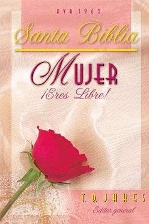 portada del libro Biblia Mujer Eres Libre