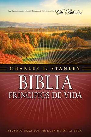 Portada del libro Biblia Principios de Vida Charles F. Stanley