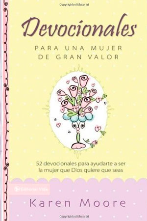 portada del libro Devocionales Para Una Mujer de Gran Valor