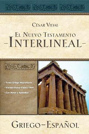 portada del libro El nuevo testamento interlineal griego-español