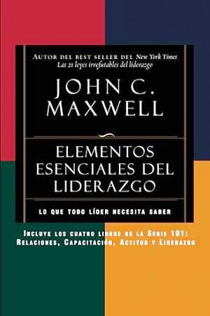 Portada del libro Elementos escenciales del liderazgo