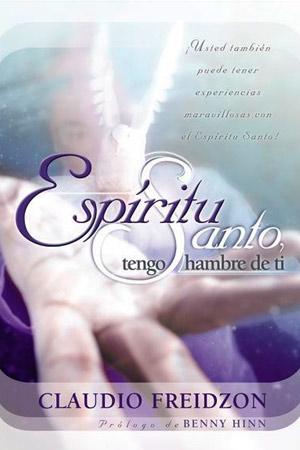 portada del libro Espiritu Santo Tengo Hambre de Ti