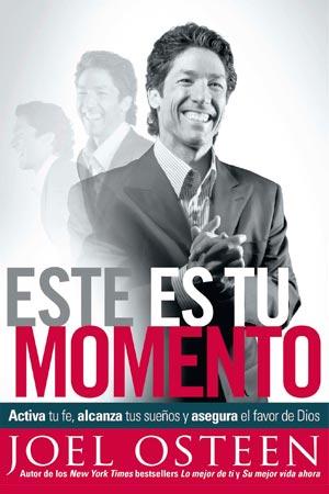 imagen de la portada del libro Este es Tu Momento