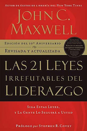 portada del libro Las 21 Leyes Irrefutables del Liderazgo