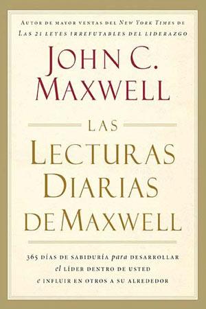 portada del libro Las Lecturas Diarias de Maxwell