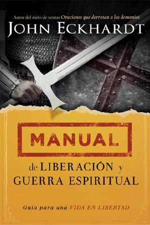 portada del libro Manual de Liberación y Guerra Espiritual