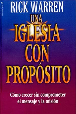 portada del libro Una Iglesia con Proposito