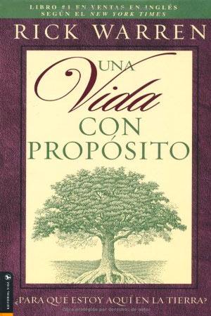 portada del libro Una Vida con Proposito