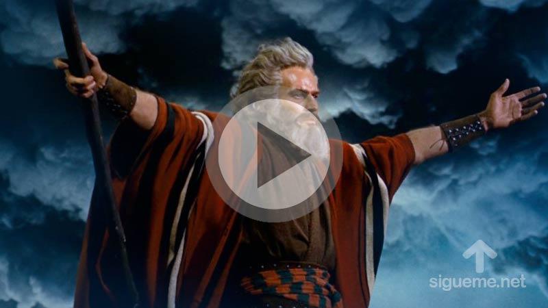Pelicula cristiana de Moises  y los Diez Mandamientos